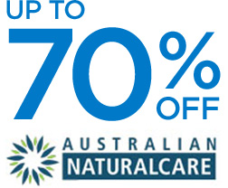 Up to 70% off AUSTRALIAN NATURALCARE